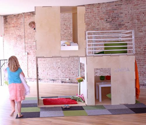 PlayModern Indoor 2 Modern Playhouses by Play Modern บ้านเด็กเล่น