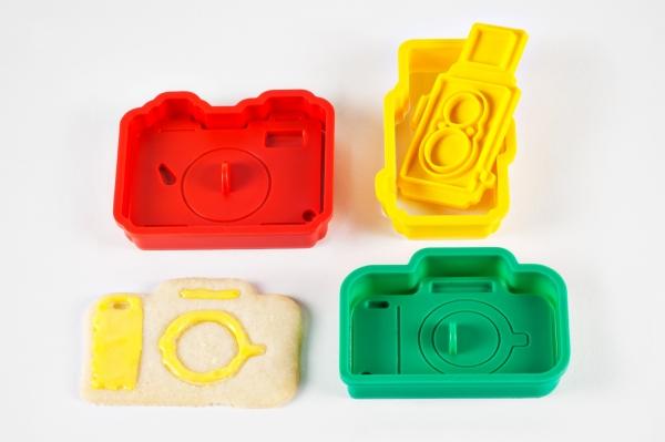 The Camera Cookie Cutter Set 27 - camera