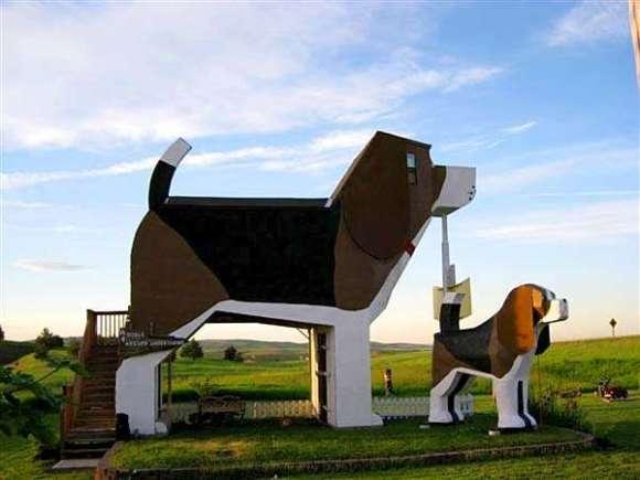 dog bark park inn 580x435 Top 5 Hip Hotel in the World 5 อันดับโรงแรมคอนเซ็ปต์เก๋ๆ