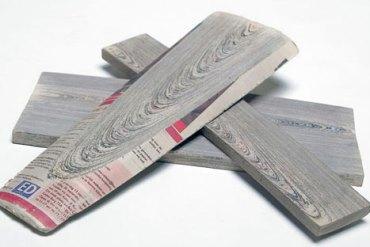 Newspaper wood!!วัสดุสุดเท่ 15 - รีไซเคิล