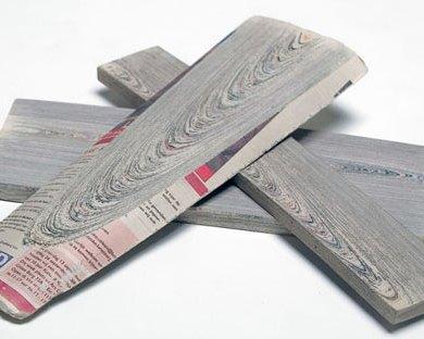 Newspaper wood!!วัสดุสุดเท่ 24 - new mayerial