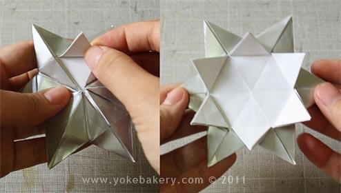 origami snowflake 15 Origami Snowflake..เอาไว้ตกแต่งบรรยากาศช่วงปีใหม่