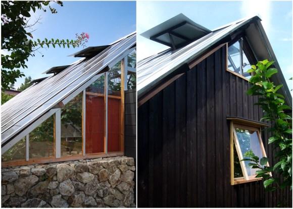 y 580x414 House in Tanimannari by Akio Kamiya บ้านเล็กๆในสวน สำหรับเอนกายพัก แบบซิลๆ