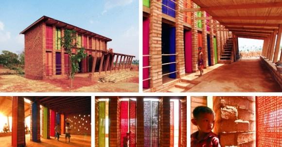 """แง่คิด """"ความยั่งยืนด้านสถาปัตยกรรมของแอฟริกา"""" Africa Calling by Francis Kere 17 - Africa"""