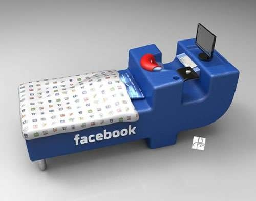 25550106 092126 FBed..เตียงสำหรับคนติดสังคมออนไลน์