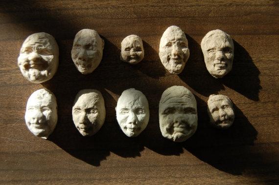 Seed Face..เมล็ดพืชจากกระดาษรีไซเคิลรูปหน้าคน 12 - green idea