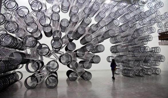 25550110 215752 Forever Bicycles ศิลปะจากจักรยาน1,200 คัน โดยศิลปินนักเคลื่อนไหวชาวจีน