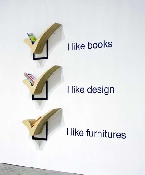 25550115 231012 ถ้าไม่ชอบผิด ก็ต้อง..ติ๊กถูก..Check Shelf ..ชั้นวางหนังสือติ๊กถูก