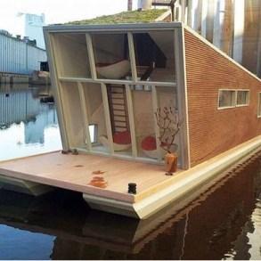 Sustainable House Boat..บ้านลอยน้ำสำหรับรับมือน้ำท่วมซ้ำซาก 23 - floating house