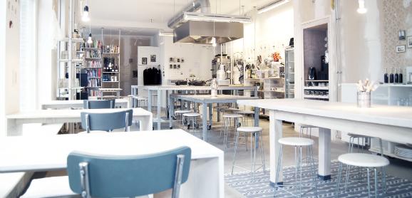 culinaire werkplaats 1 Culinary Arts ร้านอาหารที่มีการรวมรสชาติ+ศิลปะ เข้าด้วยกัน