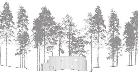 kk13 Villa Nyberg บ้านที่มีการผสมผสานของไม้ที่เป็นมิตรกับสิ่งแวดล้อม