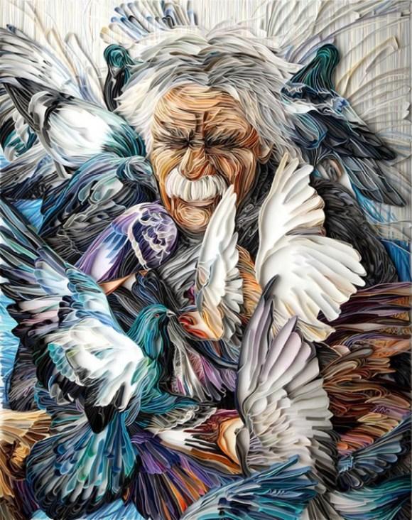 man03 580x732 Papercraft By Yulia Brodskaya