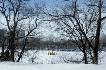 Skating Shelters หนาวอย่างอบอุ่น  30 - Architecture
