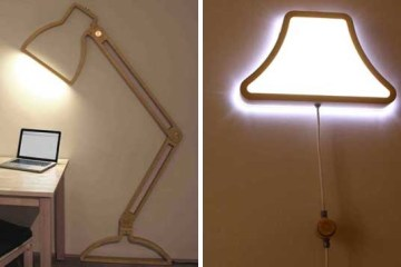 โคมไฟ2มิติ เปลี่ยนผนังให้ดูสนุกสนาน 12 - interior design