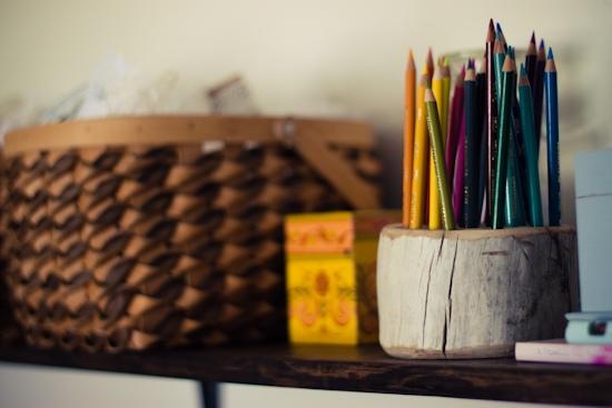 DIY ที่ใส่ดินสอ จากเศษไม้ 13 - DIY