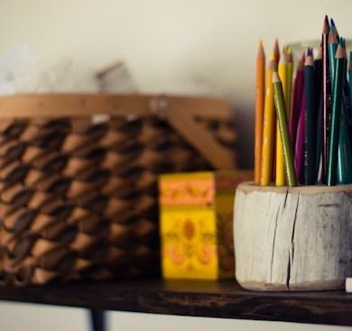 DIY ที่ใส่ดินสอ จากเศษไม้ 16 - DIY