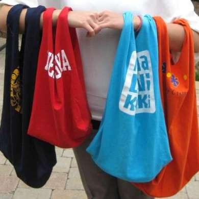 เสื้อยืดเก่า..เอามาทำถุงจ่ายตลาดเท่ๆกัน 16 - DIY
