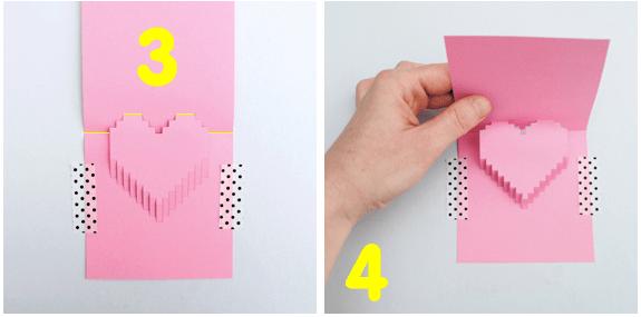 DIY Valentine POP UP CARD ทำการ์ด Handmade สุดเก๋ ส่งให้คนน่ารักกันเถอะ 18 - card