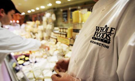 US giant Whole Food Marke 001 Whole Food Market เครือข่ายอาหารเพื่อสุขภาพ
