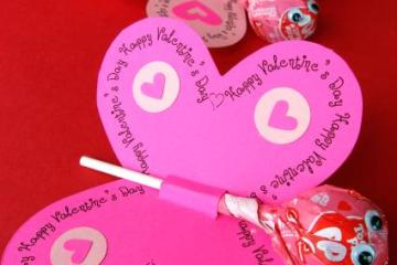 DIY.valentine lollipops