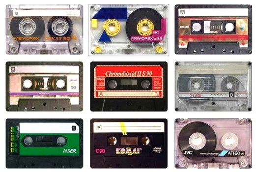 cassette tapes back from the dead1 521x350 เปลี่ยน cassette tapes ให้กลายมาเป็นของใช้ใหม่
