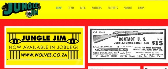 hhj1 580x238 JUNGLE Jim Magazine กับความตั้งใจในการใช้ต้นทุนน้อยๆในการพิมพ์