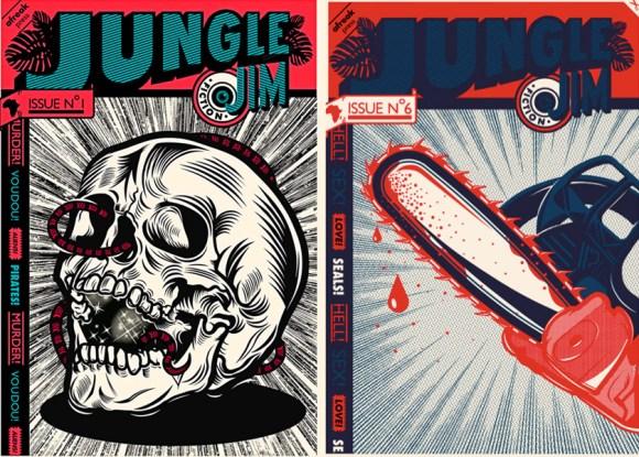 j 2 580x414 JUNGLE Jim Magazine กับความตั้งใจในการใช้ต้นทุนน้อยๆในการพิมพ์