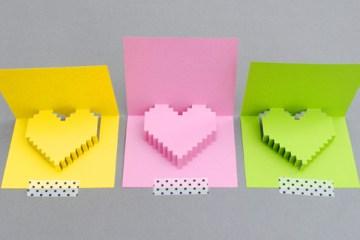DIY Valentine POP UP CARD ทำการ์ด Handmade สุดเก๋ ส่งให้คนน่ารักกันเถอะ 42 - DIY