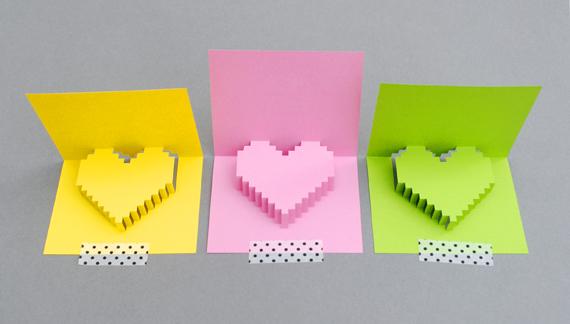 DIY Valentine POP UP CARD ทำการ์ด Handmade สุดเก๋ ส่งให้คนน่ารักกันเถอะ 4 - card