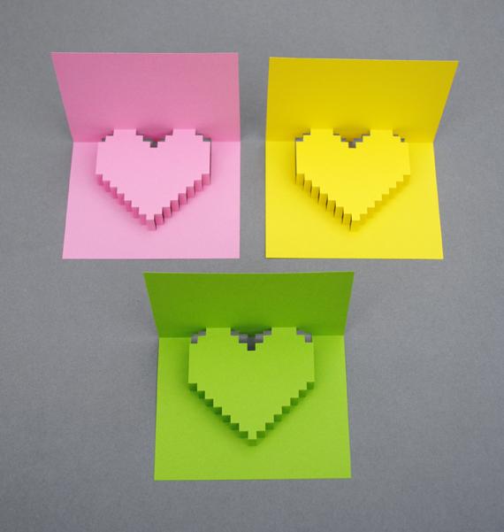 DIY Valentine POP UP CARD ทำการ์ด Handmade สุดเก๋ ส่งให้คนน่ารักกันเถอะ 22 - card