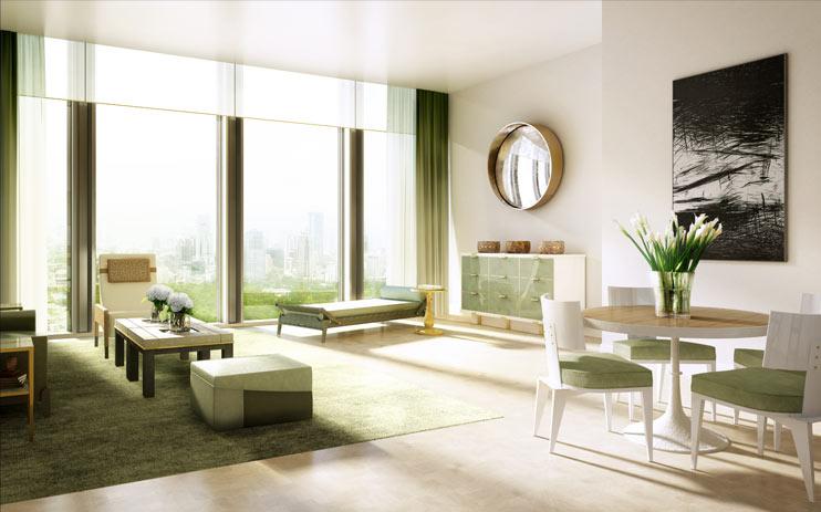 """The Ritz-Carlton Residences BKK """"มหานคร"""" ตึกระฟ้าแห่งใหม่ที่กำลังจะทำลายสถิติอาคารสูงที่สุดในประเทศไทย 22 - Apartment"""
