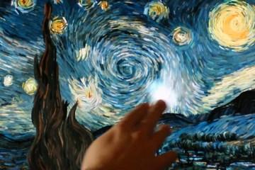 เมื่อผลงานของ Vincent van gogh กลายเป็น interactive animation 12 -
