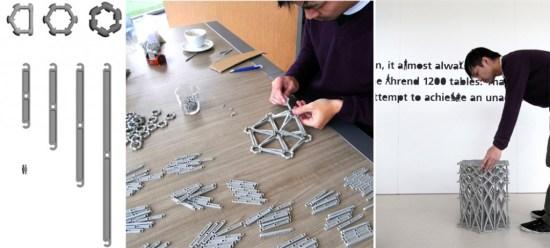 yu 1 550x248 XXXX Sofa โซฟารีไซเคิลจากขวดพลาสติกจำนวน 8,000 ชิ้น และวงแหวนอีก 2,000 วง