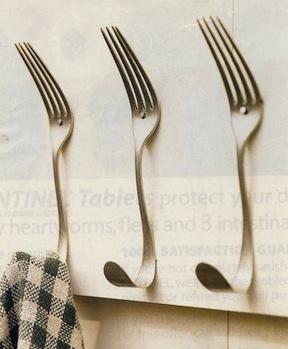 D.I.Y CUTLERY UPCYCLING เปลี่ยนช้อนส้อมที่ผุพัง สู่ของตกแต่งดีไซน์ครีเอท 13 - cutlery