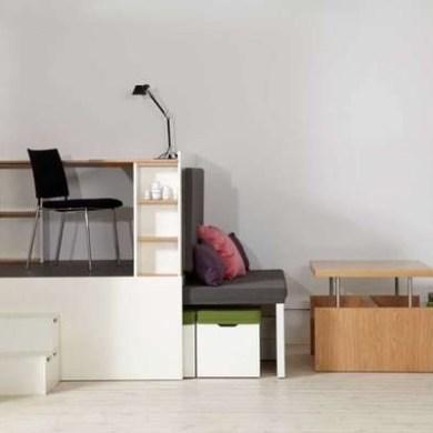 ตกแต่งห้องพื้นที่เล็ก..Compact Multi-Room Moveables 15 - เฟอร์นิเจอร์