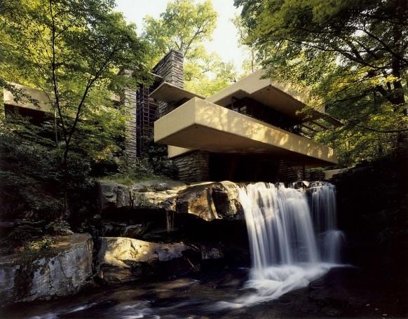 25550310 193316 Fallingwater.. บ้านบนน้ำตก ผลงานชิ้นโบว์แดงของ Frank Lloyd Wright