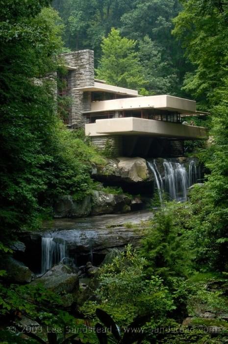 25550310 193350 Fallingwater.. บ้านบนน้ำตก ผลงานชิ้นโบว์แดงของ Frank Lloyd Wright