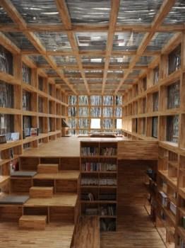 68404 slide 262x350 LiYuan Library ห้องสมุดเล็กๆท่ามกลางป่าเขา