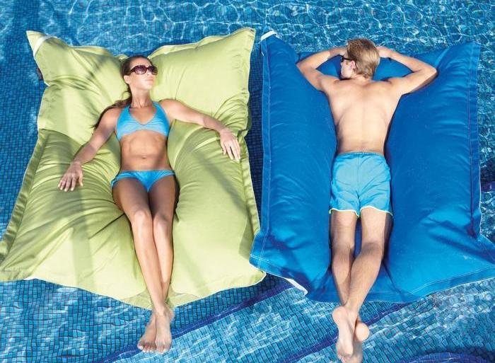 หน้าร้อนนี้มานอนลอยน้ำด้วย Bean Bag..ที่นอนลอยน้ำกัน 26 - SHOPPING