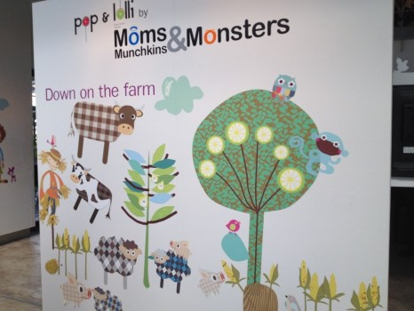 เปิดตัว Wall stickers,Pop&Lolli by Moms,Munchkins and Monsters 22 - eco-friendly