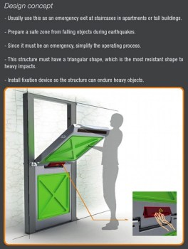 emergency door2 264x350 The Quick Shelter Door