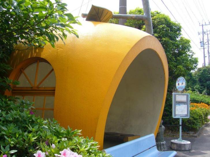 fruit bus stops japan ameblo jp2 Fruit Bus Stops..ป้ายรถเมล์ ไม่ธรรมดา