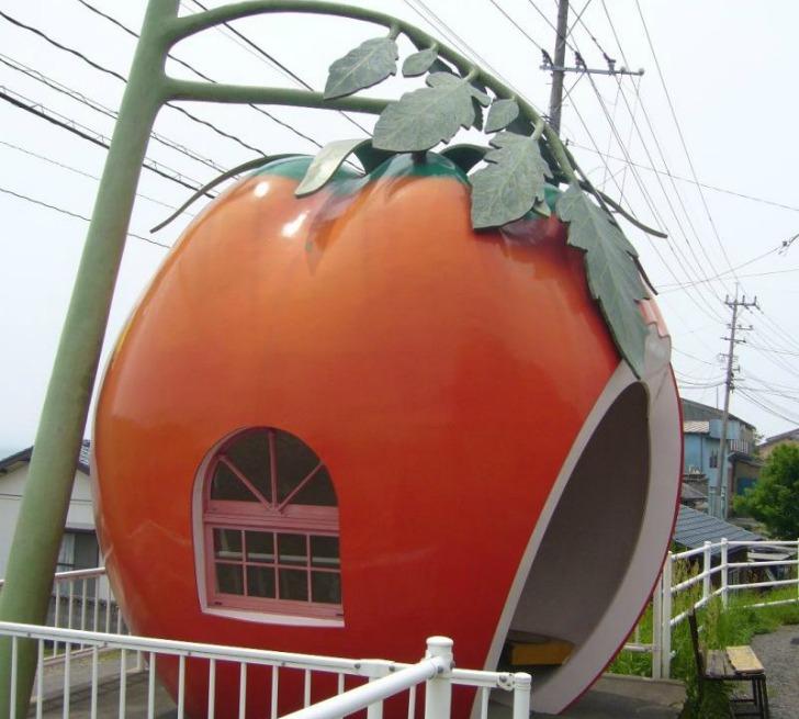 fruit bus stops japan ameblo jp4 Fruit Bus Stops..ป้ายรถเมล์ ไม่ธรรมดา