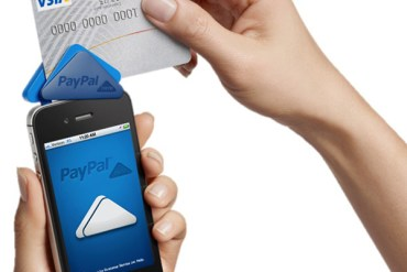 """PayPal Here"" anywhere you do business ระบบชำระเงินเคลื่อนที่แบบครบวงจร 32 - iPhone"