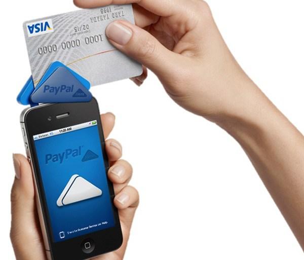 """PayPal Here"" anywhere you do business ระบบชำระเงินเคลื่อนที่แบบครบวงจร 13 - iPhone"