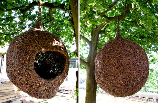 'weaver's nest' รังนกยักษ์ by Porky Hefer 19 - bird nest