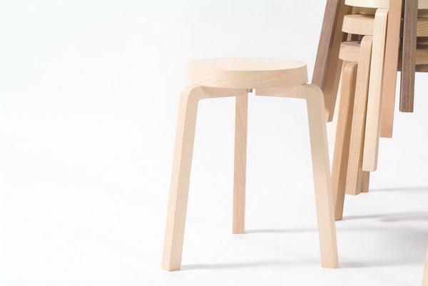 เก้าอี้สตูว์ + ม้านั่ง ในชิ้นเดียว เรียบง่ายแนว Minimalist 17 - Bench