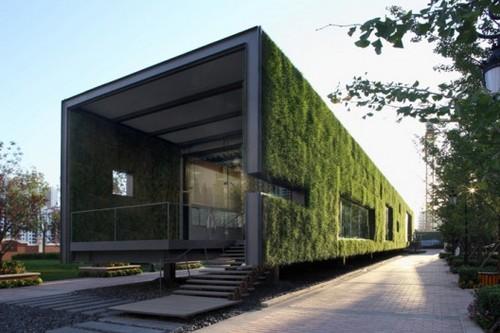 15 Show Room โชว์รูมชั่วคราวแบบกรีน Green Concept