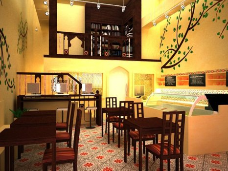 The Salad Gallery เมนูสำหรับคนรักสลัด + เสพย์งานศิลป์ 17 - East meet West