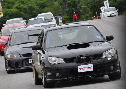 """4 25 2012 8 23 12 PM """"POTENZA DRIVING LESSON"""" การขับขี่แบบสปอร์ตบนพื้นฐานของความปลอดภัย  พัฒนาโดยอดีตนักแข่งรถยนต์สูตรหนึ่ง"""